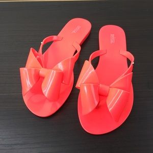 a0e84f305 Melissa Shoes - MELISSA HARMONIC JELLY THONG FLIP FLOP SANDALS 7